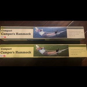 Camper's Hammock 2 for price of one